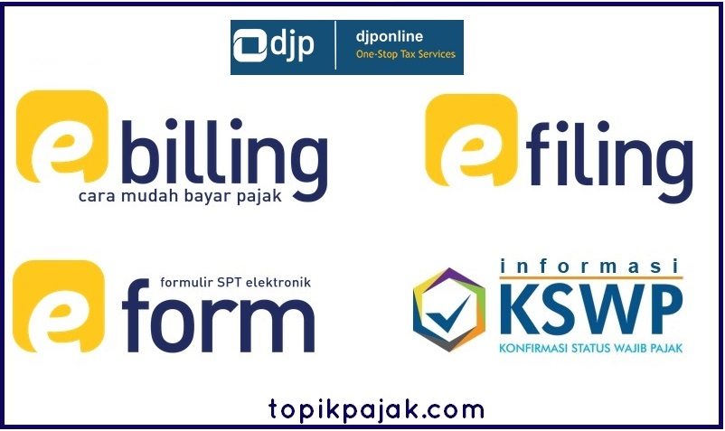 Layanan Perpajakan Online | Fitur Portal DJP Online