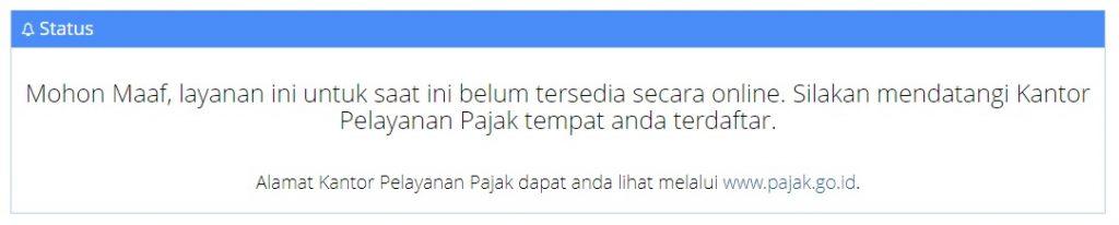 NPWP Pindah [Online]
