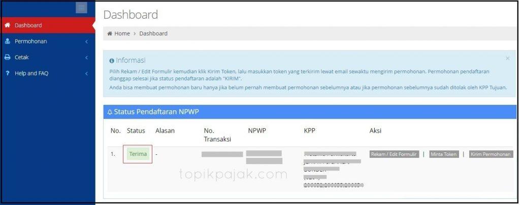 Cara Pendaftaran Npwp Online Pribadi Lengkap